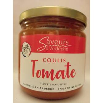 Coulis de tomate nature 300g