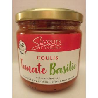 Coulis de tomate basilic 300g