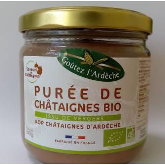 PUREE DE CHATAIGNES BIO