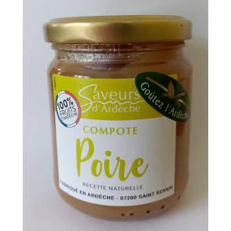 Compote Poire 100% Ardèche...