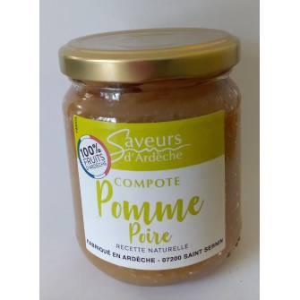 Compote Pomme Poire 100%...